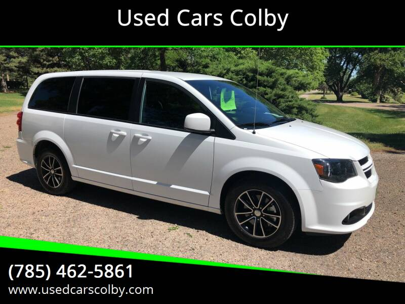 2018 Dodge Grand Caravan for sale at Used Cars Colby in Colby KS