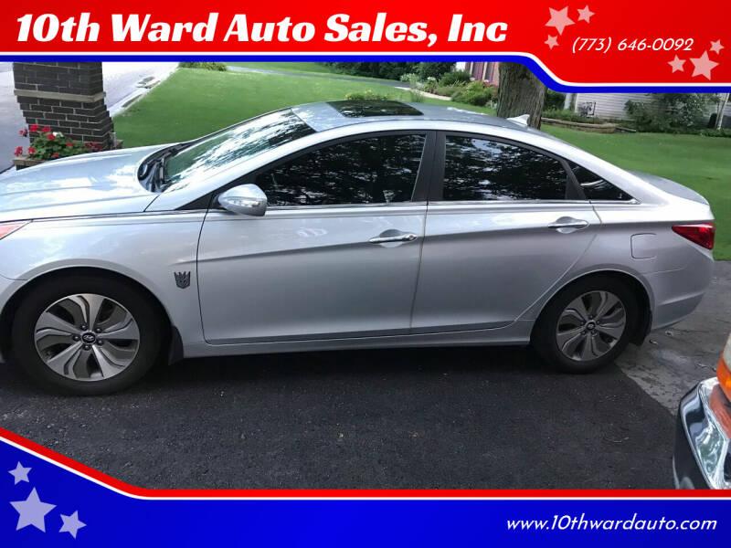 2011 Hyundai Sonata for sale at 10th Ward Auto Sales, Inc in Chicago IL