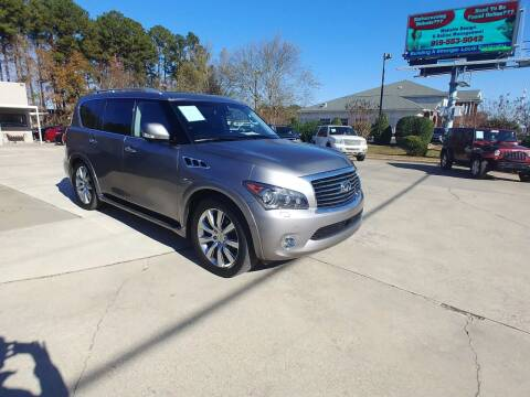 2012 Infiniti QX56 for sale at Smithfield Auto Center LLC in Smithfield NC