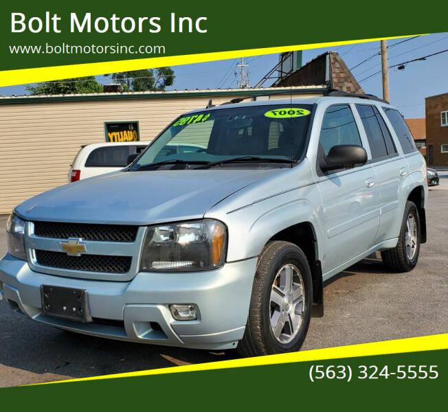 2007 Chevrolet TrailBlazer for sale at Bolt Motors Inc in Davenport IA