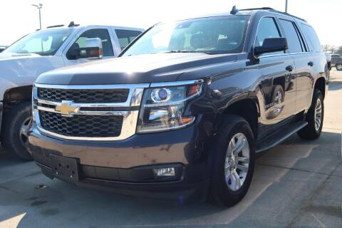 2016 Chevrolet Tahoe for sale at Lipscomb Auto Center in Bowie TX