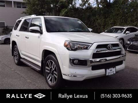 2017 Toyota 4Runner for sale at RALLYE LEXUS in Glen Cove NY