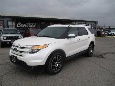2012 Ford Explorer for sale at Central Auto in South Salt Lake UT