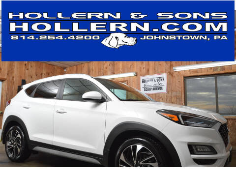 2019 Hyundai Tucson for sale at Hollern & Sons Auto Sales in Johnstown PA