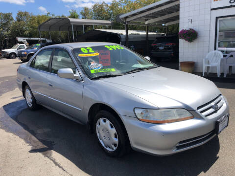 2002 Honda Accord for sale at Freeborn Motors in Lafayette OR