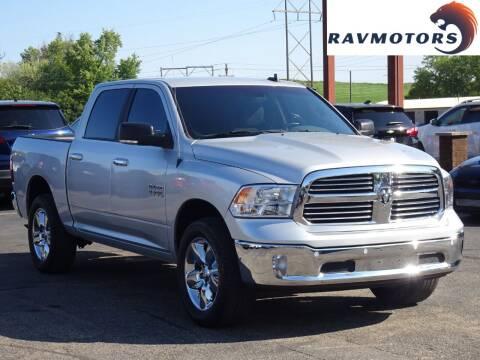 2018 RAM Ram Pickup 1500 for sale at RAVMOTORS in Burnsville MN