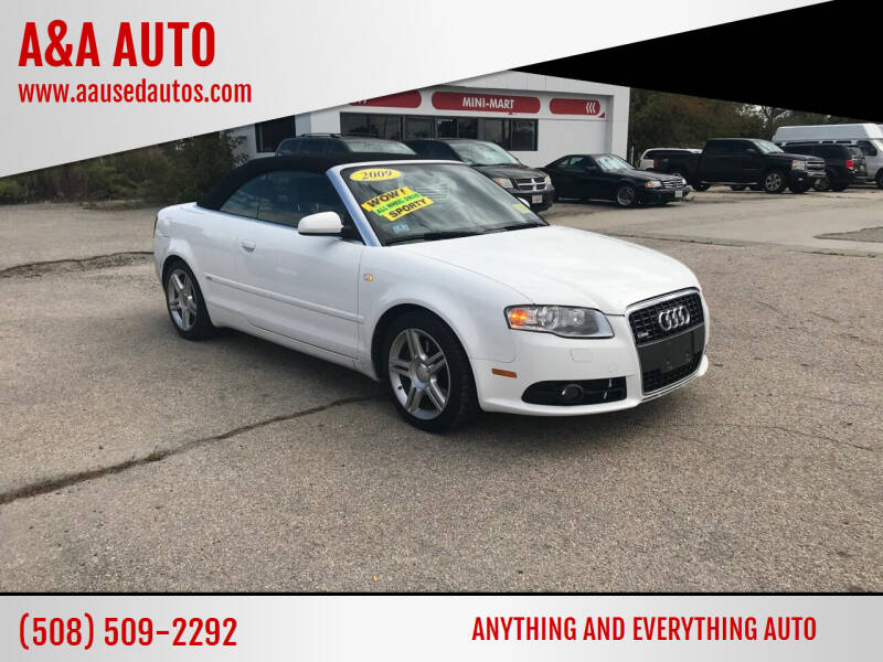 2009 Audi A4 for sale at A&A AUTO in Fairhaven MA