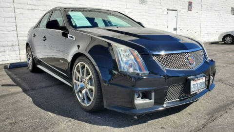 2011 Cadillac CTS-V for sale at ADVANTAGE AUTO SALES INC in Bell CA