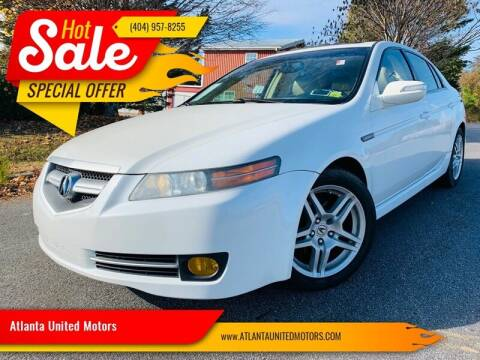 2008 Acura TL for sale at Atlanta United Motors in Buford GA