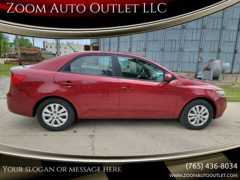 2011 Kia Forte for sale at Zoom Auto Outlet LLC in Thorntown IN