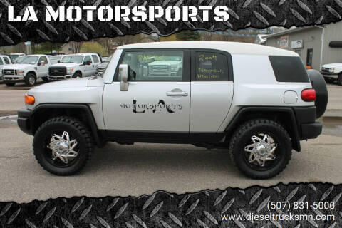 2007 Toyota FJ Cruiser for sale at LA MOTORSPORTS in Windom MN