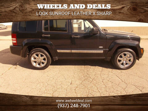 2012 Jeep Liberty for sale at Wheels and Deals in New Lebanon OH