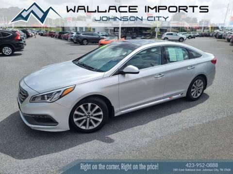 2016 Hyundai Sonata for sale at WALLACE IMPORTS OF JOHNSON CITY in Johnson City TN