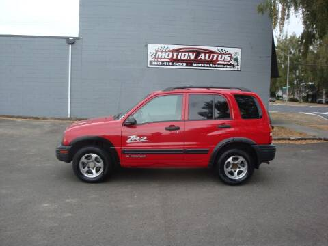 2004 Chevrolet Tracker for sale at Motion Autos in Longview WA