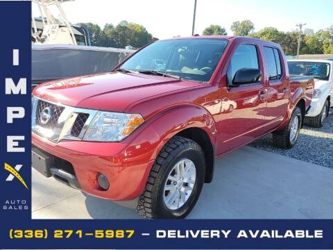 2018 Nissan Frontier for sale at Impex Auto Sales in Greensboro NC