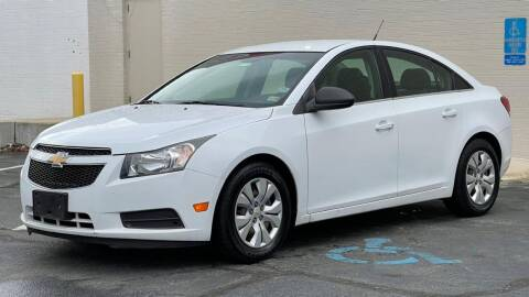 2012 Chevrolet Cruze for sale at Carland Auto Sales INC. in Portsmouth VA