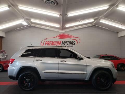 2011 Jeep Grand Cherokee for sale at Premium Motors in Villa Park IL
