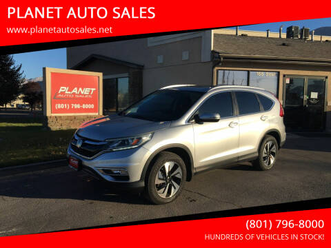 2016 Honda CR-V for sale at PLANET AUTO SALES in Lindon UT