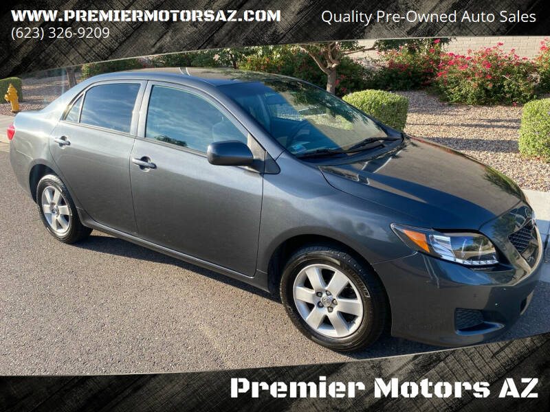 2009 Toyota Corolla for sale at Premier Motors AZ in Phoenix AZ