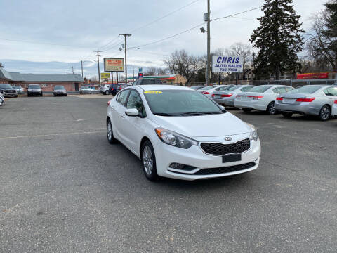 2014 Kia Forte for sale at Chris Auto Sales in Springfield MA