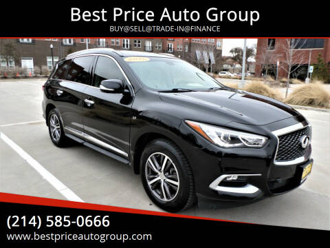 2016 Infiniti QX60 for sale at Best Price Auto Group in Mckinney TX
