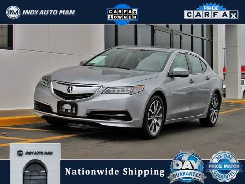 2017 Acura TLX for sale at INDY AUTO MAN in Indianapolis IN