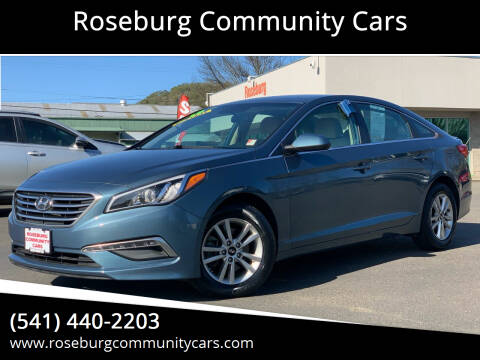 2015 Hyundai Sonata for sale at Roseburg Community Cars in Roseburg OR