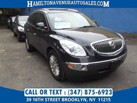 2012 Buick Enclave for sale at Hamilton Avenue Auto Sales in Brooklyn NY