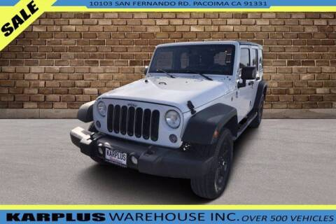 2014 Jeep Wrangler Unlimited for sale at Karplus Warehouse in Pacoima CA