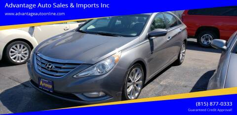 2011 Hyundai Sonata for sale at Advantage Auto Sales & Imports Inc in Loves Park IL