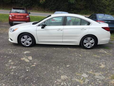 2015 Subaru Legacy for sale at B & B GARAGE LLC in Catskill NY