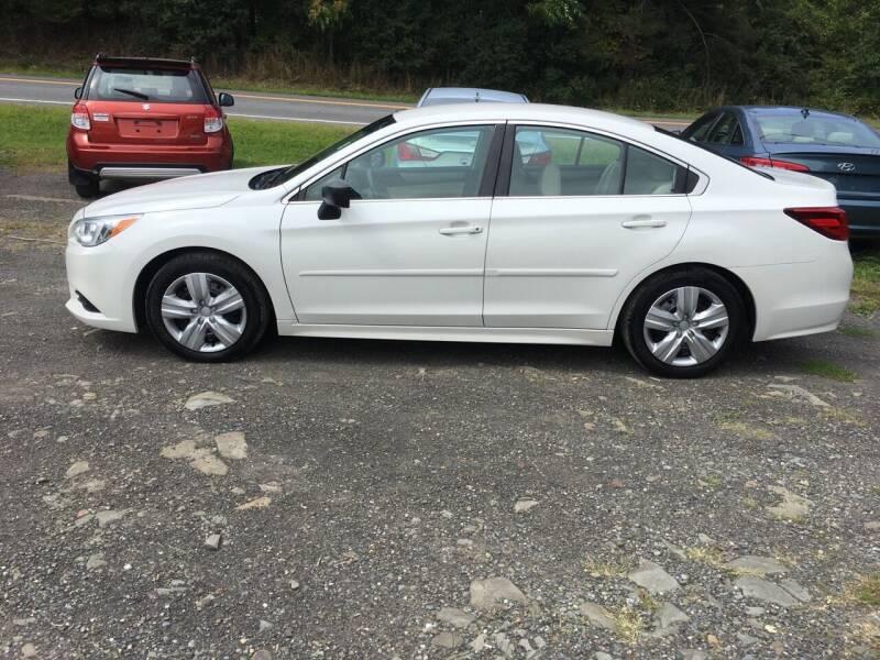 2015 Subaru Legacy for sale at B & B GARAGE LLC in Catskill NY