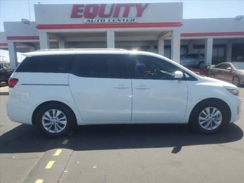 2016 Kia Sedona for sale at EQUITY AUTO CENTER in Phoenix AZ
