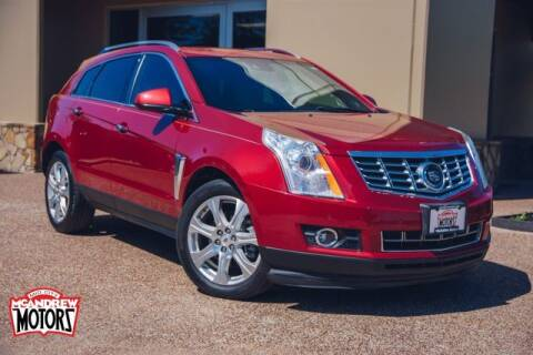 2014 Cadillac SRX for sale at Mcandrew Motors in Arlington TX