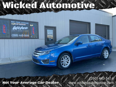 2012 Ford Fusion for sale at Wicked Automotive in Fort Wayne IN