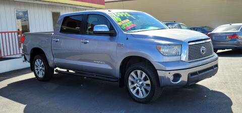 2010 Toyota Tundra for sale at Henry's Autosales, LLC in Reno NV