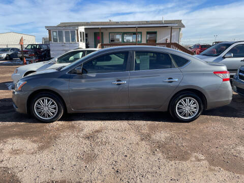 2015 Nissan Sentra for sale at PYRAMID MOTORS - Fountain Lot in Fountain CO