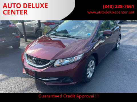 2015 Honda Civic for sale at AUTO DELUXE CENTER in Toms River NJ