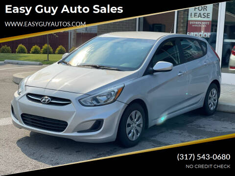 2016 Hyundai Accent for sale at Easy Guy Auto Sales in Indianapolis IN