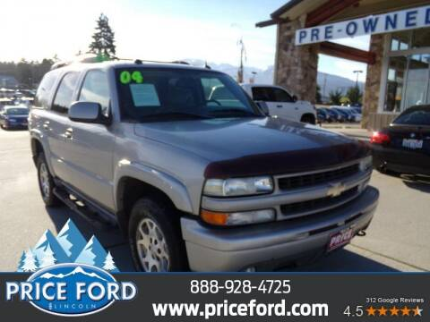 2004 Chevrolet Tahoe for sale at Price Ford Lincoln in Port Angeles WA
