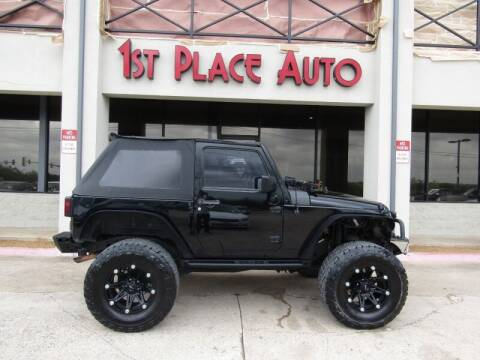 2007 Jeep Wrangler for sale at First Place Auto Ctr Inc in Watauga TX
