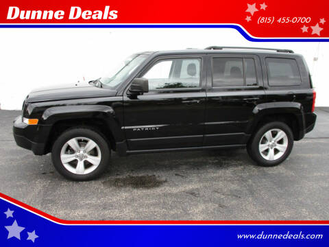 2012 Jeep Patriot for sale at Dunne Deals in Crystal Lake IL