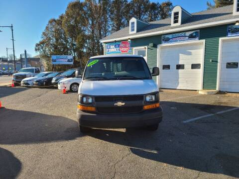 2012 Chevrolet Express Cargo for sale at Bridge Auto Group Corp in Salem MA