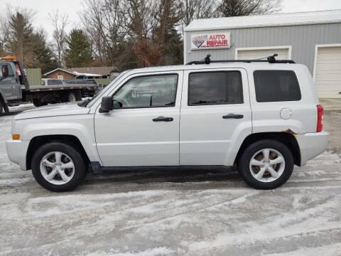 2008 Jeep Patriot for sale at Hilltop Auto in Prescott MI