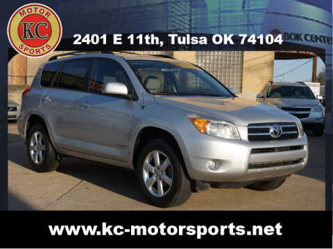 2008 Toyota RAV4 for sale at KC MOTORSPORTS in Tulsa OK
