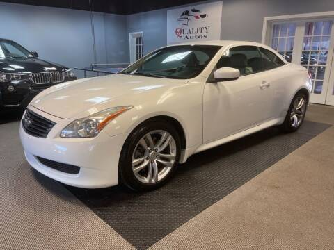 2009 Infiniti G37 Convertible for sale at Quality Autos in Marietta GA