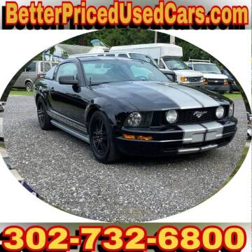 2005 Ford Mustang for sale at Better Priced Used Cars in Frankford DE