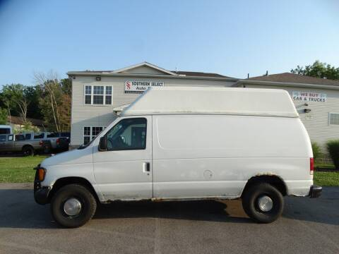 2006 Ford E-Series Cargo for sale at SOUTHERN SELECT AUTO SALES in Medina OH