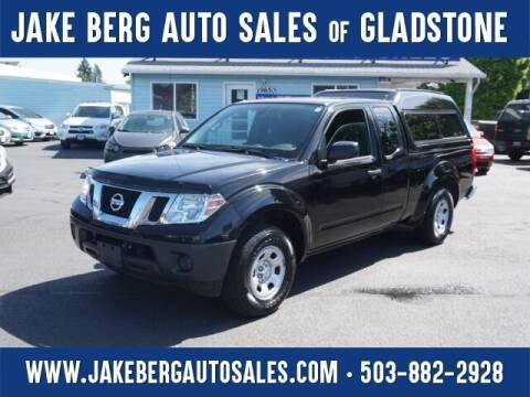 2016 Nissan Frontier for sale at Jake Berg Auto Sales in Gladstone OR