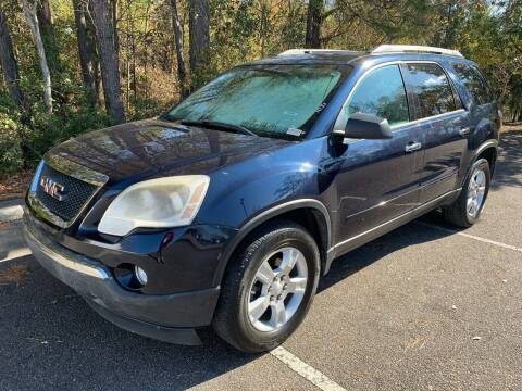2012 GMC Acadia for sale at Auto Mart in North Charleston SC